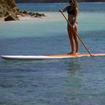 We hire Imagine stand up paddle boards and deliver on Virgin Gorda
