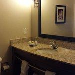 Nice updated bathroom