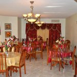 Formal dining room on the first floor