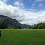 front lawn of Muckross