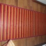 tappetto di bambù di sottolavello da cucina!