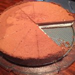 Brown&white chocolate cake