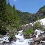 sul sentiero delle cascate del Saent