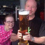 3L glass of beer