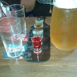 Shoot + biere