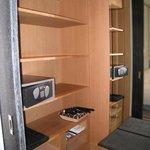 Closet #1 with safe