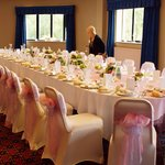 Our wedding table was amazing all done by the excellent staff at the Baron court hotel. First cl