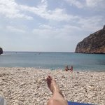 La playa más bonita del mundo, tranquilidad absoluta y un paisaje que te desconecta del mundanal