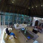 the main lounge