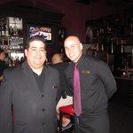 Chops- Our Captain-Jorge and Server-Eliezer!