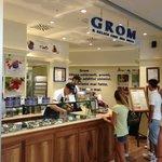 gelateria Grom - galleria commerciale Porta di Roma