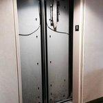 Exposed elevator