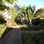 lovely pathways, gardens and sculptures