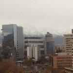 otra vista con la cordillera nevada