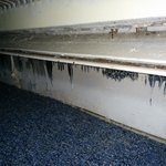 Baseboard with heater