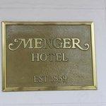 Menger Sign out Front