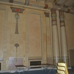Pillars in the Egyptian room
