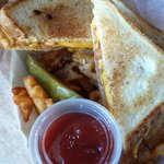 Grilled cheese at Son's of Liberty