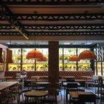 Hotel cafe area