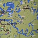Part of delta map