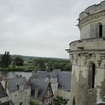 Vista desde una terraza del Castillo de Amboise,Francia