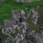 Kinbane castle ruins