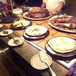 buffet, miam!