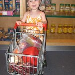 Daughter loved the little grocery store