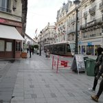 Tipica calle centrica de Orleans,muy cerca del hotel