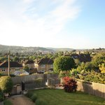 garden views over bath