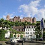 Otra vista del Castillo de Heidelberg