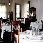 The Dining Room in Mrs, Wolfe's Boarding House