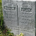 Evergreen Cemetery. Twins died within days