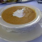 lobster bisque - thick and delicious!