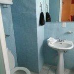 Bathroom, hair dryiner included