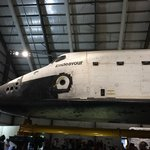 """The """"holes"""" are the thrusters on Endeavor"""