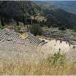 Overview of Delphi - a short 2-hour drive from Longos