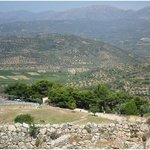 View from Mycenae - a 2-hour drive from Longos