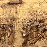 obra na porta(bronze)
