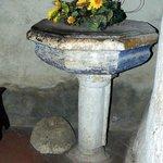 acquasantiera interno cappella