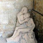 statua ingresso eremo