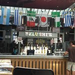 Belushi's Bar, on the ground floor of the hostel