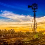 Sunset at McGinn's PistachioLand by Jason Smith