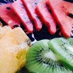 Fruit Plate before Breakfast
