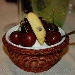 fiordilatte con ciliegie