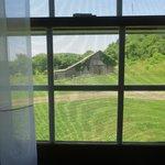 Mayhurst Inn - Orange Virginia - School House cottage - View of old barn