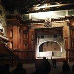 arco scenico sul palcoscenico di 40 m