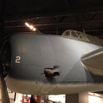 George Bush Presidential Library and Museum - WWII Dive Bomber