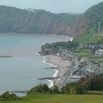 Sidmouth from Salcome Hill