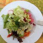 Beilagensalat des heutigen Abend's